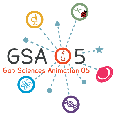Logo Gap Sciences Animation 05