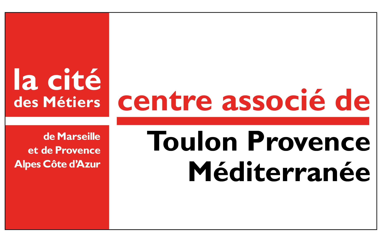 Logo Centre Associé Cité des Métiers MDE de Toulon Provence Méditerranée