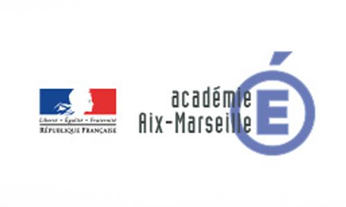 Logo Rectorat de l'Académie d'Aix-Marseille