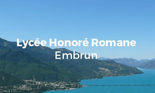 Logo Lycée Honoré Romane